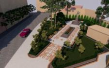 У Чернівцях показали, як виглядатиме сквер біля пам'ятника героям Буковинського куреня (фото)
