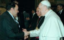 Священик з Чернівців зустрівся з Папою Римським (фото)