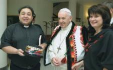 Папа Римський привітав зі срібним весіллям подружжя священика з Чернівців (фото)