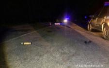 На Буковині водійка наїхала на чоловіка, який лежав на дорозі