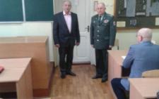 У ЧНУ призначили нового завідувача кафедри військової підготовки