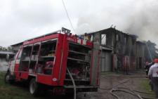 У Чернівцях стали відомі подробиці масштабної пожежі в гаражах (фото)