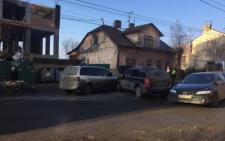 На Героїв Майдану у Чернівцях зіткнулись два автомобілі (фото)