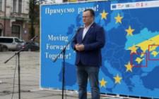 В Чернівецькій ОДА вибачилися за банер з двома зображеннями Криму