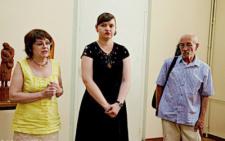 У Чернівцях в художньому музеї відкрилась виставка пам'яті Володимира Денисова (фото)