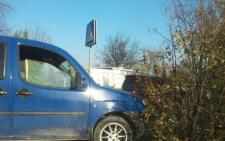 На виїзді з Чернівців зіткнулось декілька автівок (фото)