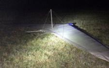 На Буковині вночі біля кордону знайшли дельтаплан: контрабандисти втекли