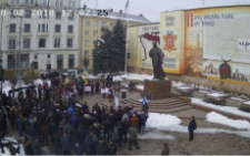 Прихильники Саакашвілі у Чернівцях провели «Марш за майбутнє»
