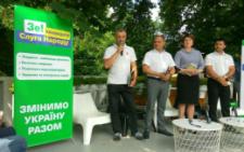 Партія «Слуга народу» представила своїх 4 кандидатів на Буковині