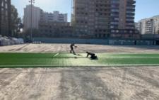 У Чернівцях на стадіоні від УЄФА встановлюють штучне покриття (фото)