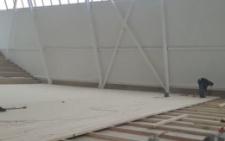 У селі під Чернівцями будують сучасний Палац спорту (відео)