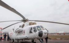 На Буковині заступив на цілодобове чергування санітарний вертоліт Мі-8