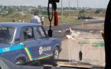 У Чернівцях «бус» зіткнувся з легковиком: двох осіб госпіталізували
