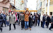 У Чернівцях вулицями міста пройшла «Хресна Дорога» (фото)